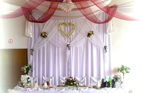 Dekoracje ślubne i weselne Rogoźno