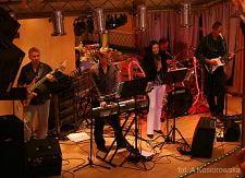 Zespół Hors podczas koncertu